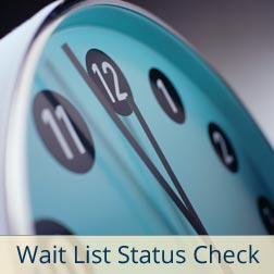 Wait List Status Check