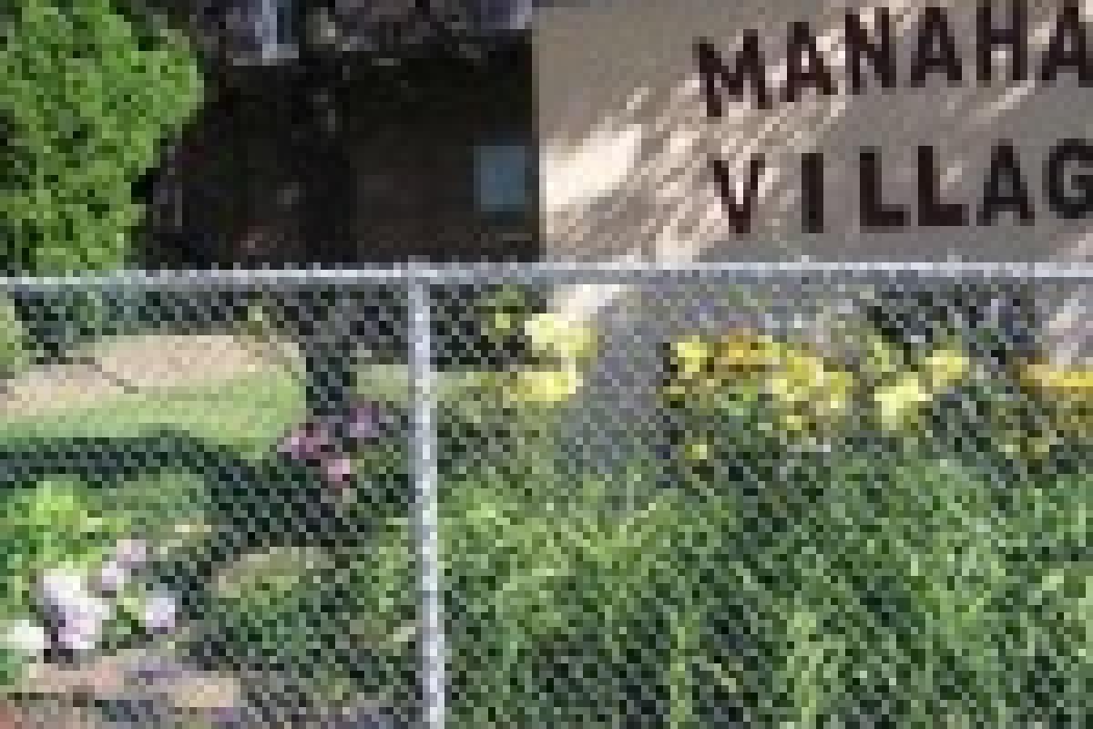 Manahan Village sign